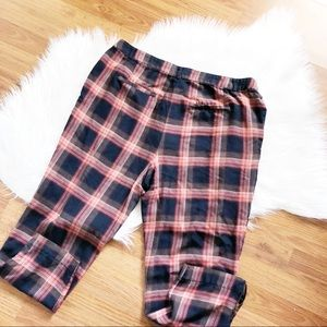 Cartonnier [ Anthropologie ] Plaid Trousers